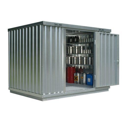 Magazyn substancji niebezpiecznych Safe Tank ST1000 6 m2, składowanie WGK
