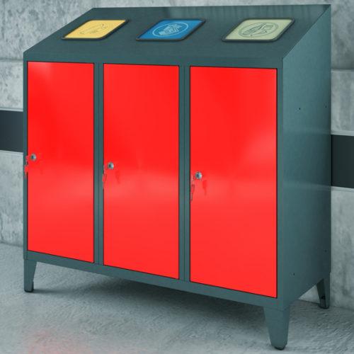 Metalowy-pojemnik-do-segregacji-odpadów-2