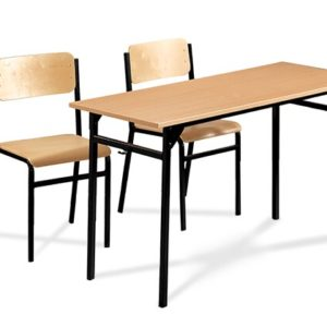 Krzesła i ławki szkolne