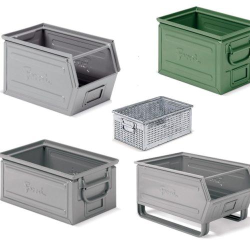 Pojemniki metalowe małe