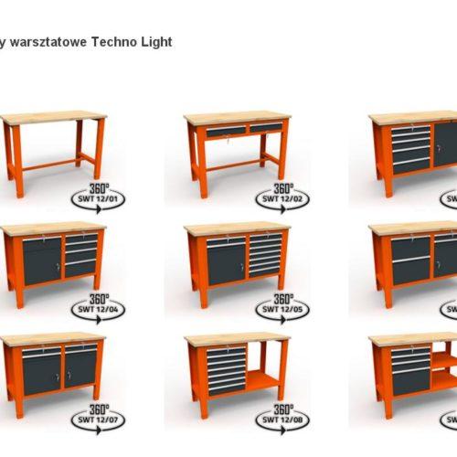 Stoły warsztatowe Techno Light